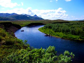 Alaska Goodnews River Fishing Float  Trip