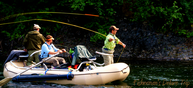 fly fishing Alaska float trip