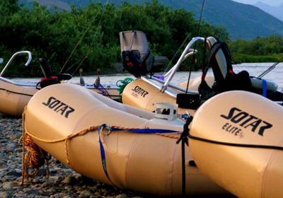rafting trips in Alaska