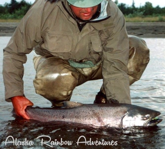 Lake Creek Alaska King Salmon Fishing Alaska