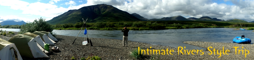 Intimate Rivers Style Trip on Alaska's Goodnews river